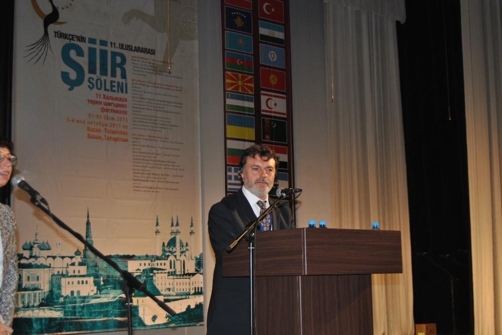 Türkçe'nin 11. Uluslararası Şiir Şöleni (Kazan/Tataristan) galerisi resim 13