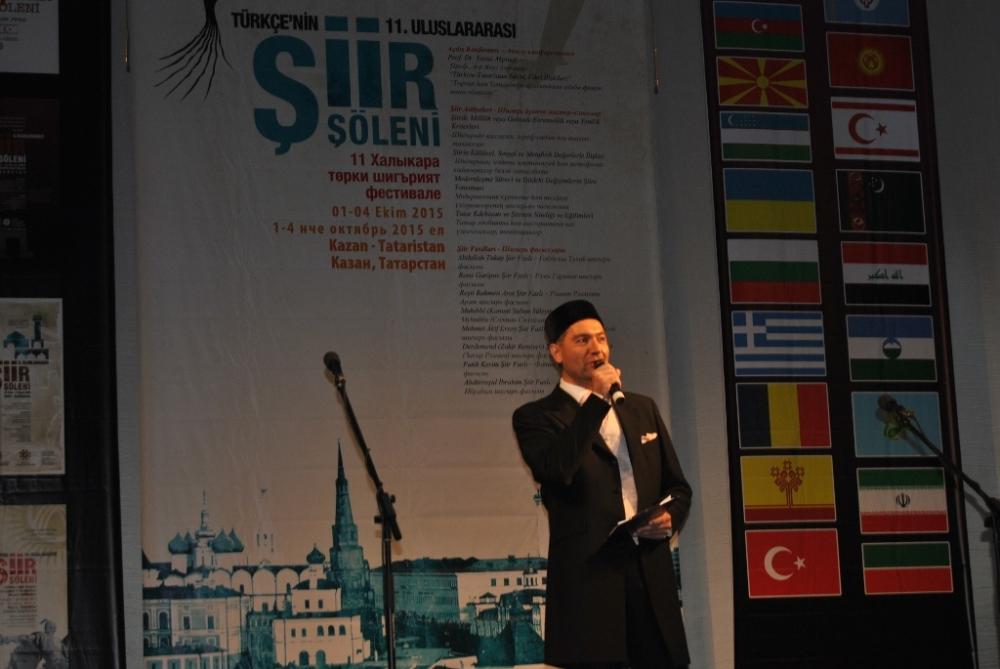 Türkçe'nin 11. Uluslararası Şiir Şöleni (Kazan/Tataristan) galerisi resim 15