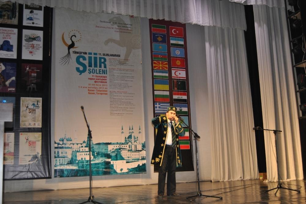 Türkçe'nin 11. Uluslararası Şiir Şöleni (Kazan/Tataristan) galerisi resim 16