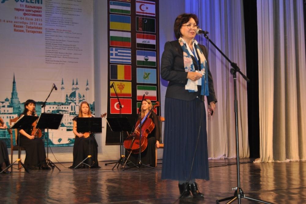 Türkçe'nin 11. Uluslararası Şiir Şöleni (Kazan/Tataristan) galerisi resim 33