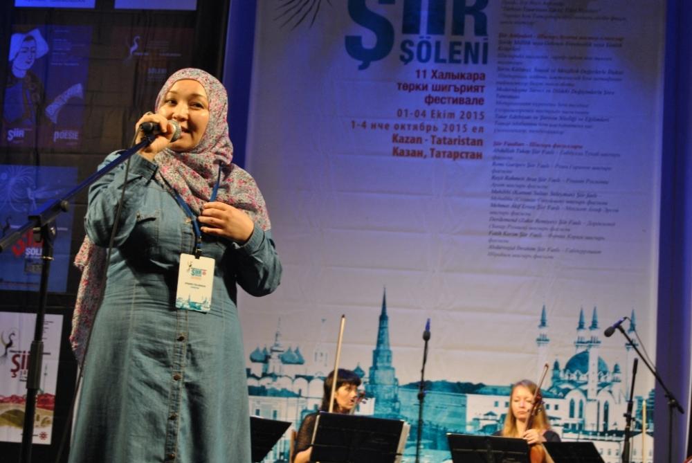 Türkçe'nin 11. Uluslararası Şiir Şöleni (Kazan/Tataristan) galerisi resim 37
