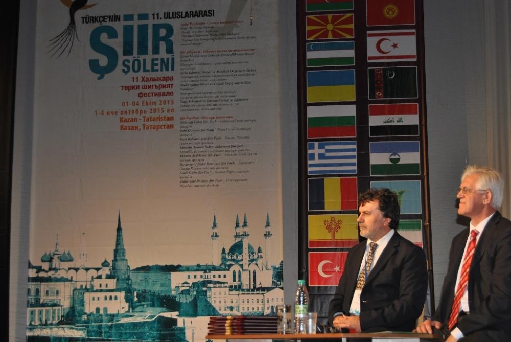 Türkçe'nin 11. Uluslararası Şiir Şöleni (Kazan/Tataristan) galerisi resim 4