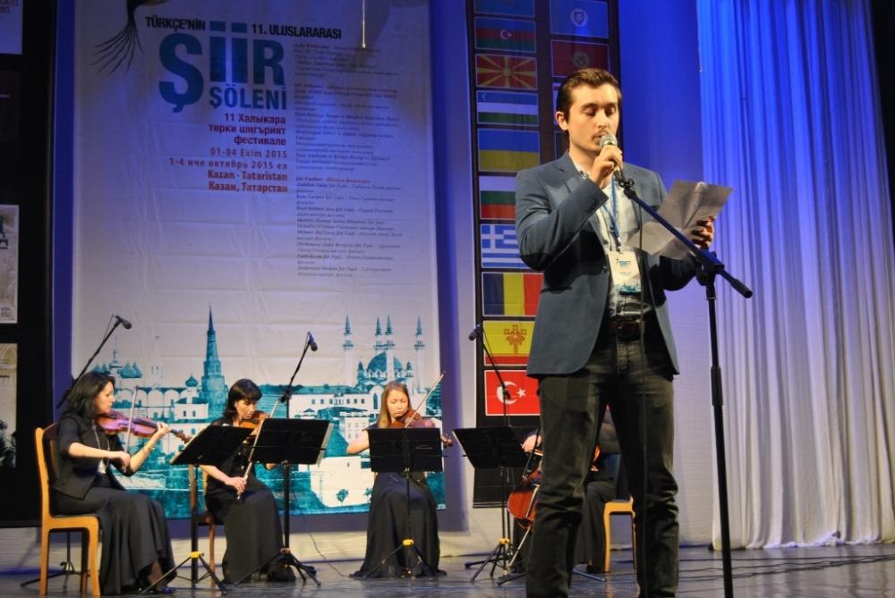 Türkçe'nin 11. Uluslararası Şiir Şöleni (Kazan/Tataristan) galerisi resim 41