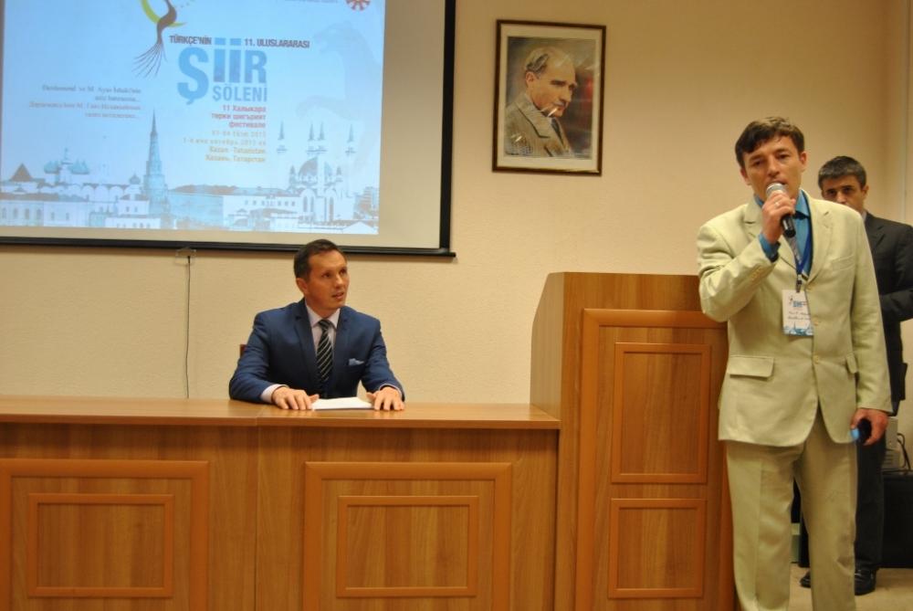 Türkçe'nin 11. Uluslararası Şiir Şöleni (Kazan/Tataristan) galerisi resim 72