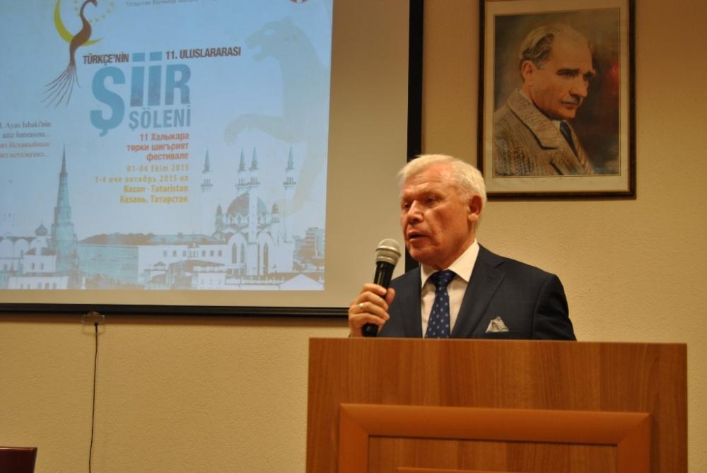 Türkçe'nin 11. Uluslararası Şiir Şöleni (Kazan/Tataristan) galerisi resim 84