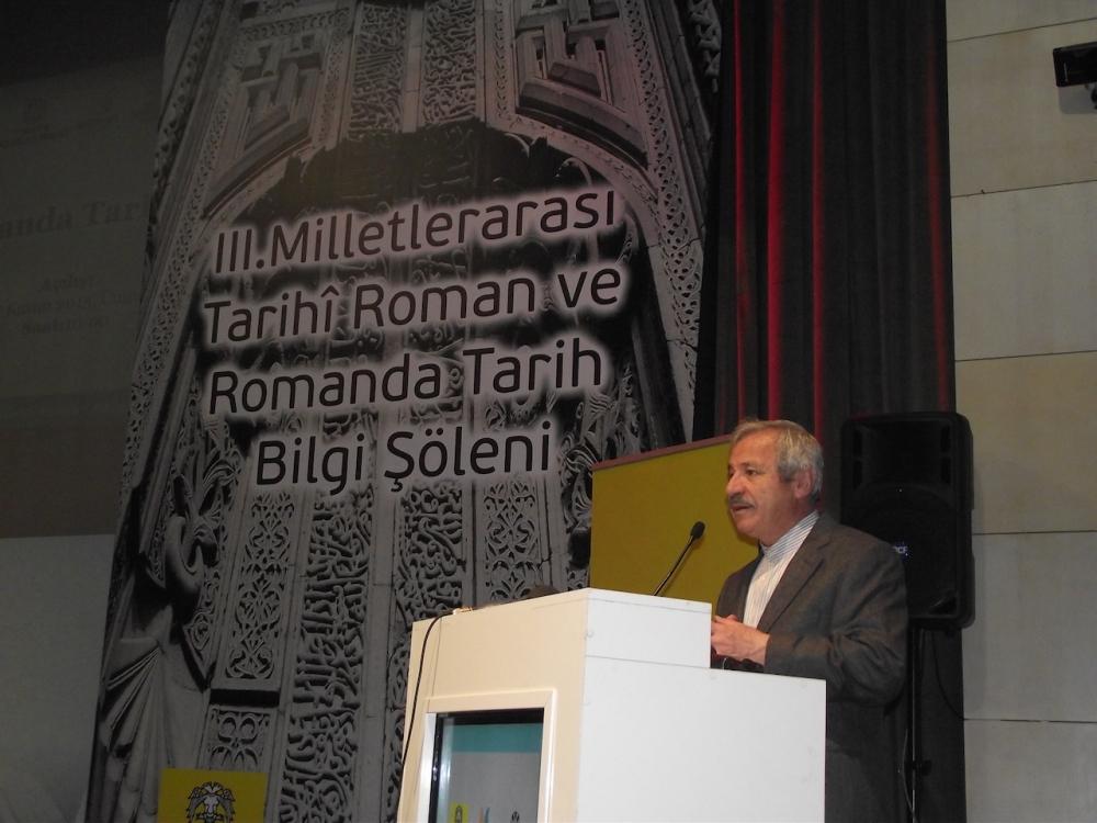 3. Milletlerarası Tarihi Roman ve Romanda Tarih Bilgi Şöleni galerisi resim 12