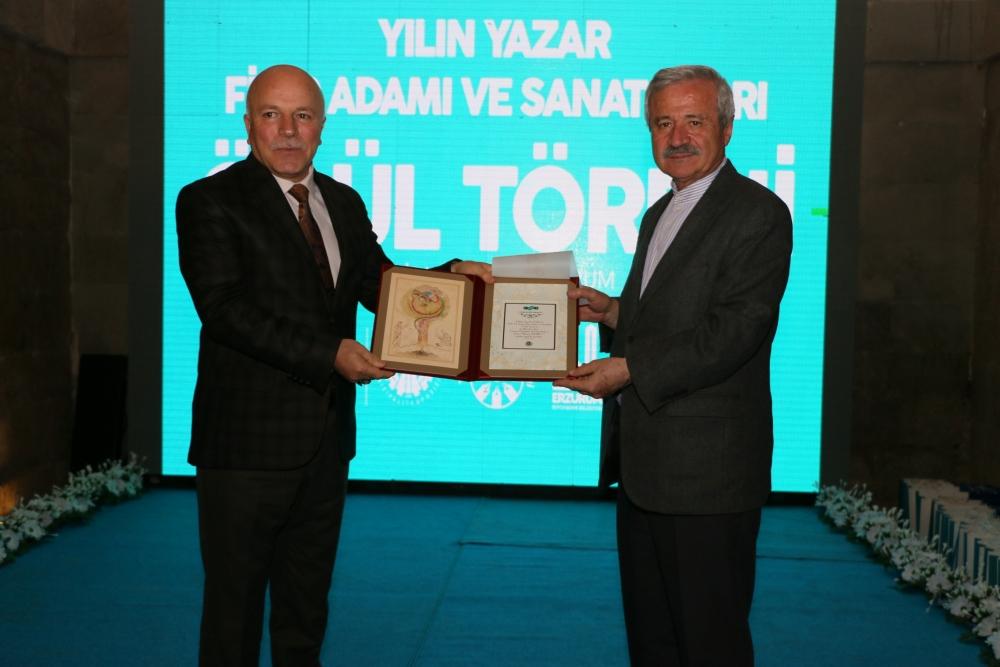 Erzurum'da Yılın Yazarları, Sanatçıları Ödül Töreni galerisi resim 5