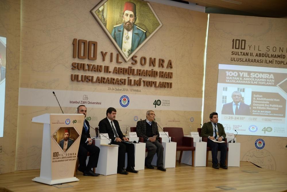 100 Yıl Sonra 2. Abdülhamid Han Uluslararası İlmi Toplantısı galerisi resim 18