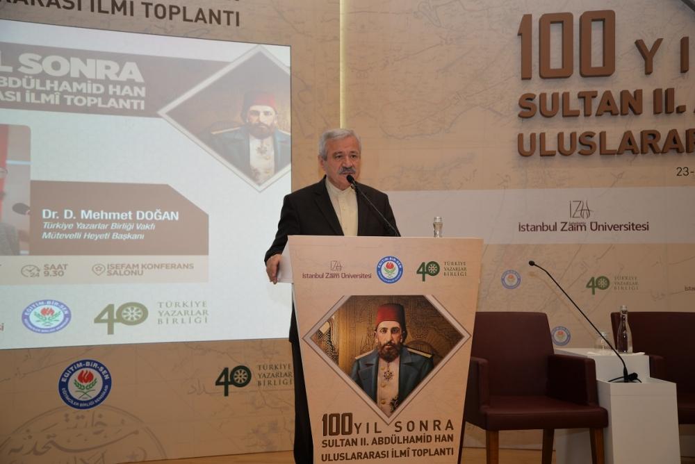 100 Yıl Sonra 2. Abdülhamid Han Uluslararası İlmi Toplantısı galerisi resim 2