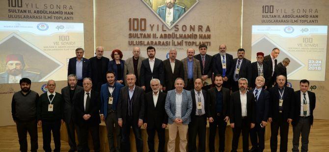 100 Yıl Sonra 2. Abdülhamid Han Uluslararası İlmi Toplantısı