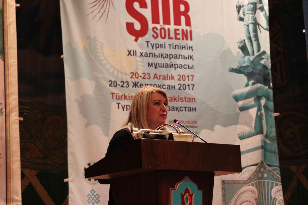 Türkçenin 12. Uluslararası Şiir Şöleni Kazakistan'da Yapıldı galerisi resim 101