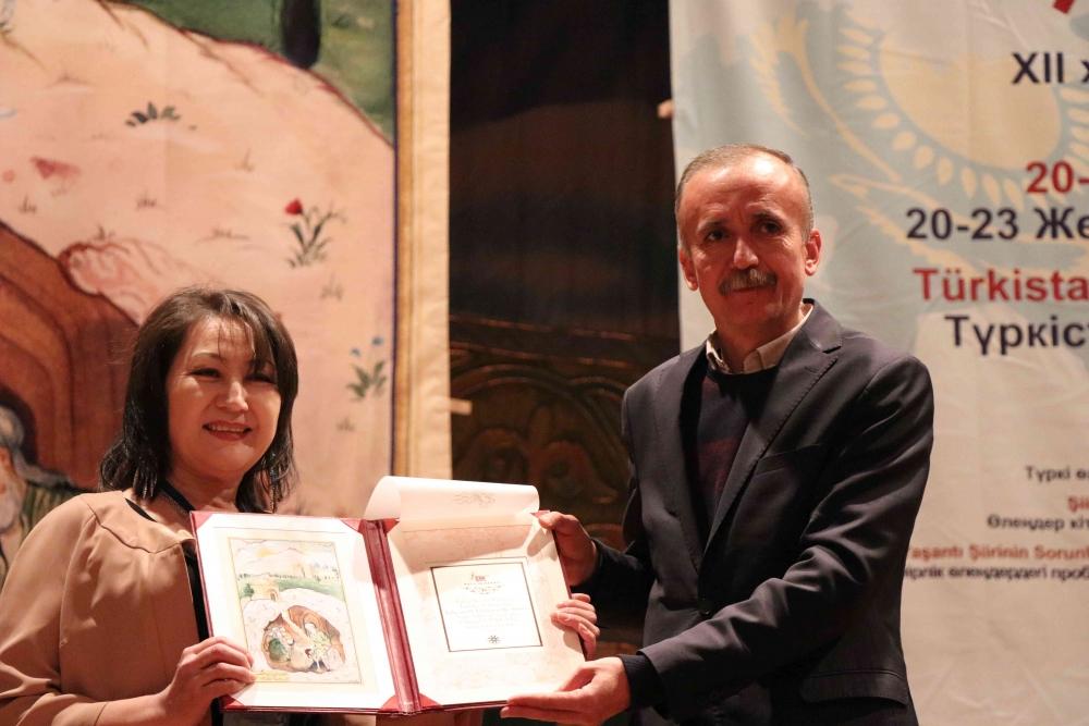 Türkçenin 12. Uluslararası Şiir Şöleni Kazakistan'da Yapıldı galerisi resim 111