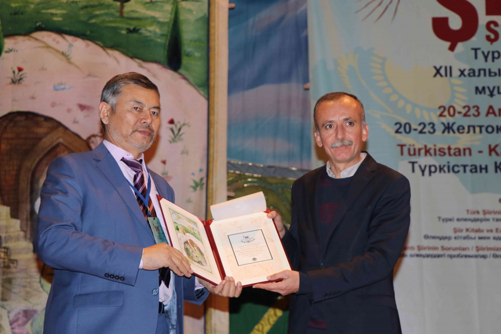 Türkçenin 12. Uluslararası Şiir Şöleni Kazakistan'da Yapıldı galerisi resim 112