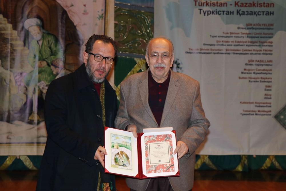 Türkçenin 12. Uluslararası Şiir Şöleni Kazakistan'da Yapıldı galerisi resim 126