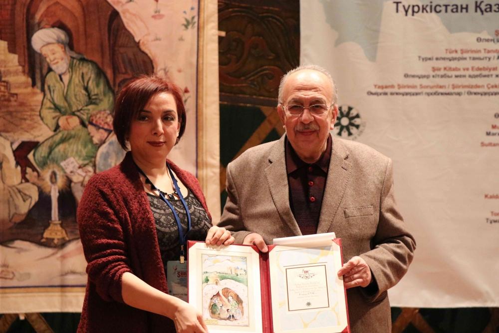 Türkçenin 12. Uluslararası Şiir Şöleni Kazakistan'da Yapıldı galerisi resim 132