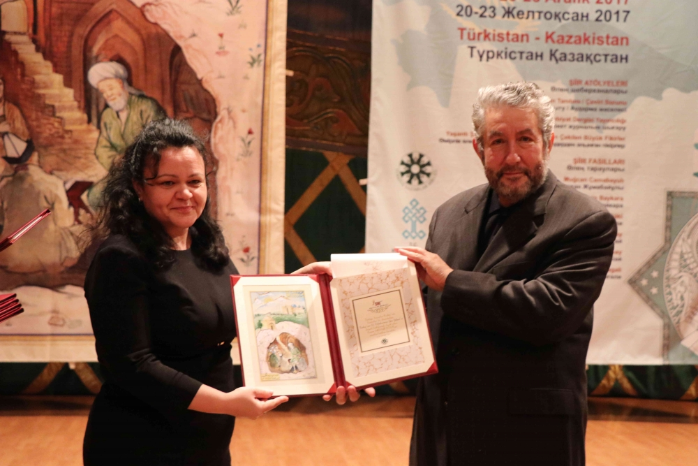 Türkçenin 12. Uluslararası Şiir Şöleni Kazakistan'da Yapıldı galerisi resim 136