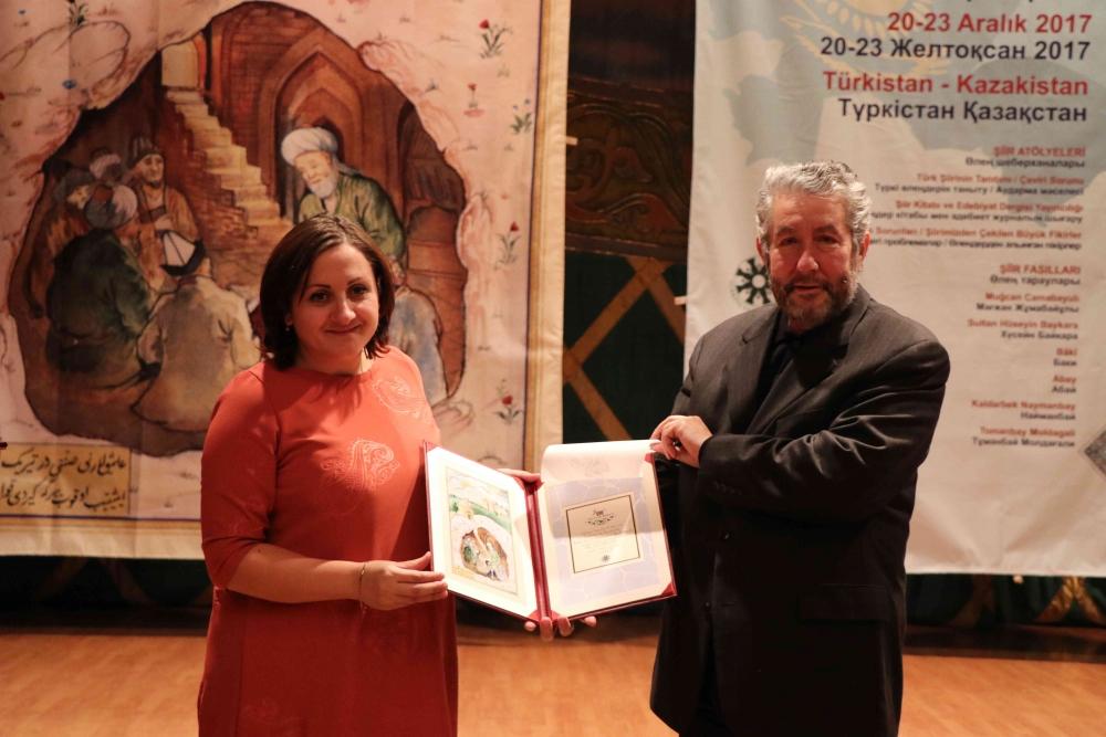 Türkçenin 12. Uluslararası Şiir Şöleni Kazakistan'da Yapıldı galerisi resim 137