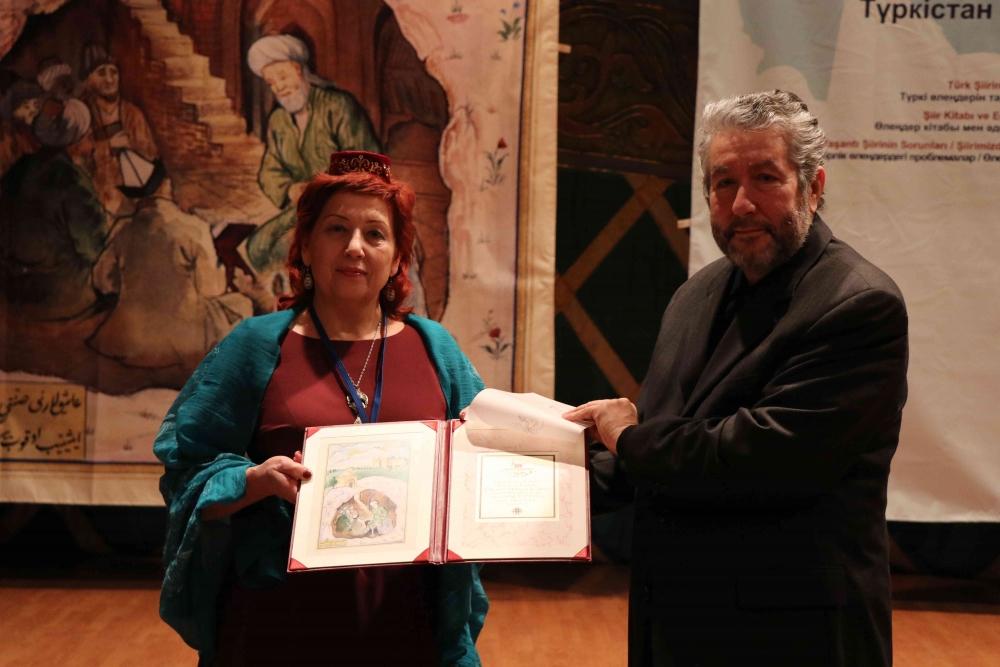 Türkçenin 12. Uluslararası Şiir Şöleni Kazakistan'da Yapıldı galerisi resim 138