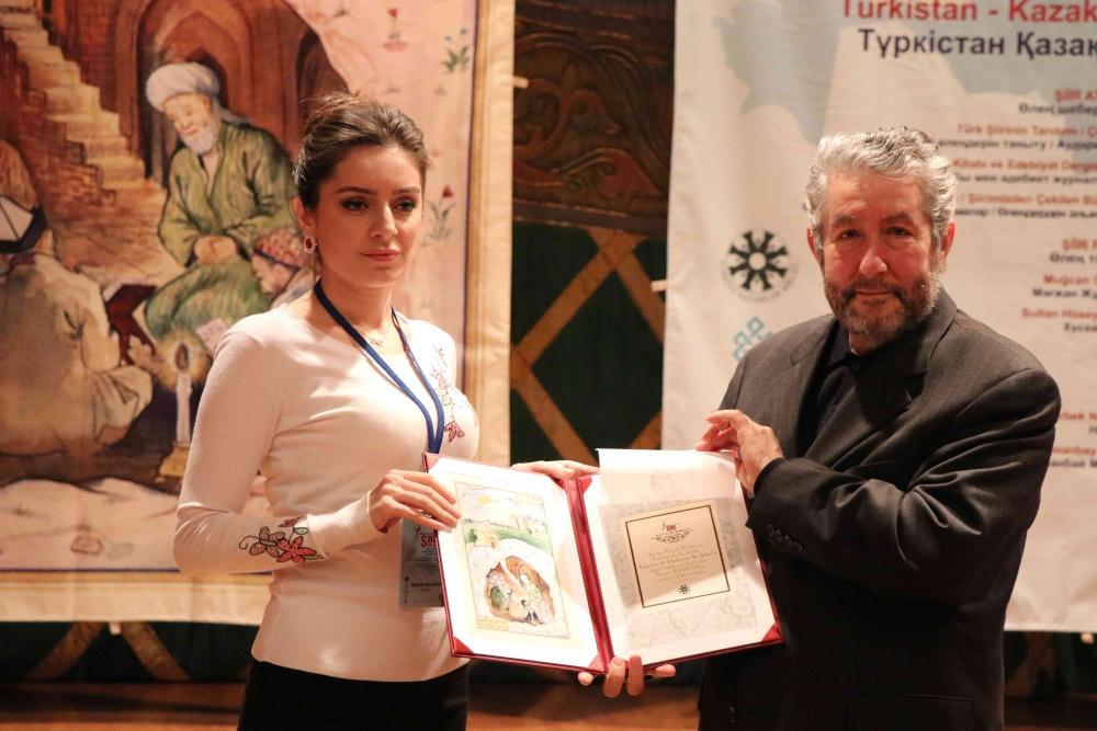 Türkçenin 12. Uluslararası Şiir Şöleni Kazakistan'da Yapıldı galerisi resim 139
