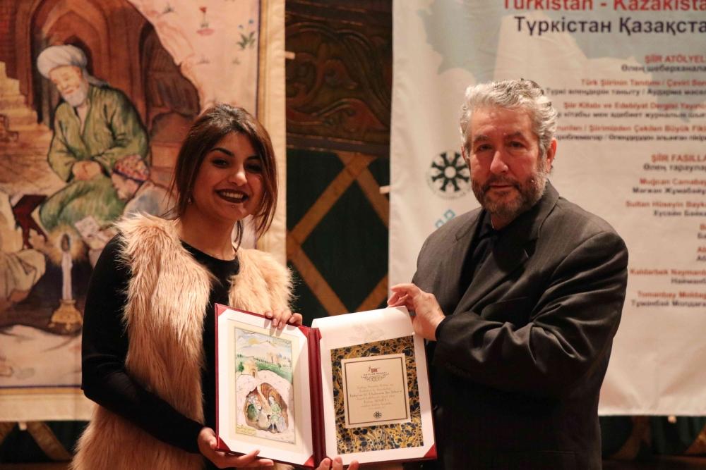 Türkçenin 12. Uluslararası Şiir Şöleni Kazakistan'da Yapıldı galerisi resim 140