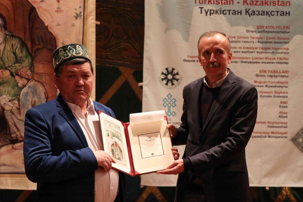 Türkçenin 12. Uluslararası Şiir Şöleni Kazakistan'da Yapıldı galerisi resim 142