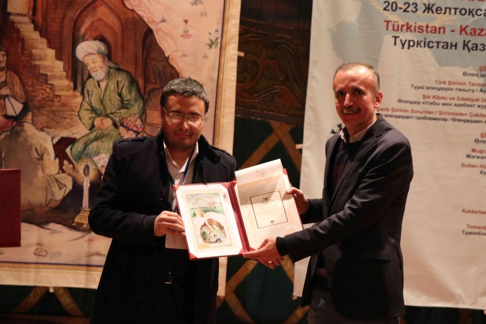 Türkçenin 12. Uluslararası Şiir Şöleni Kazakistan'da Yapıldı galerisi resim 143