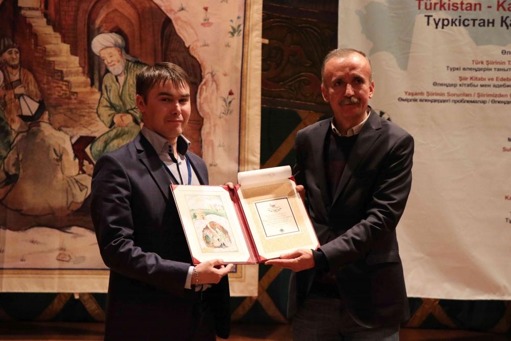 Türkçenin 12. Uluslararası Şiir Şöleni Kazakistan'da Yapıldı galerisi resim 145
