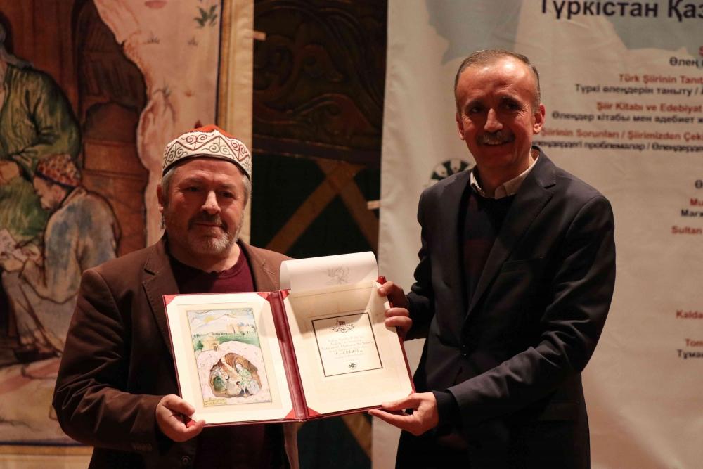 Türkçenin 12. Uluslararası Şiir Şöleni Kazakistan'da Yapıldı galerisi resim 146