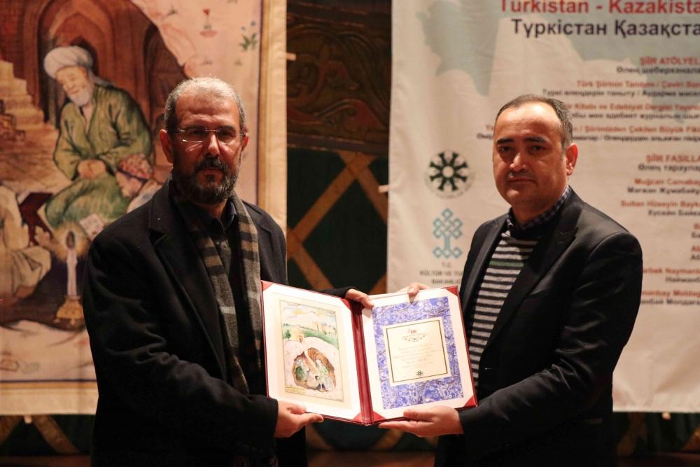 Türkçenin 12. Uluslararası Şiir Şöleni Kazakistan'da Yapıldı galerisi resim 161