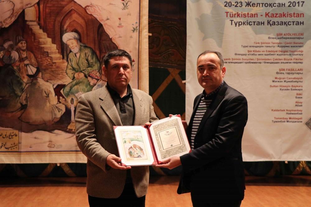 Türkçenin 12. Uluslararası Şiir Şöleni Kazakistan'da Yapıldı galerisi resim 162