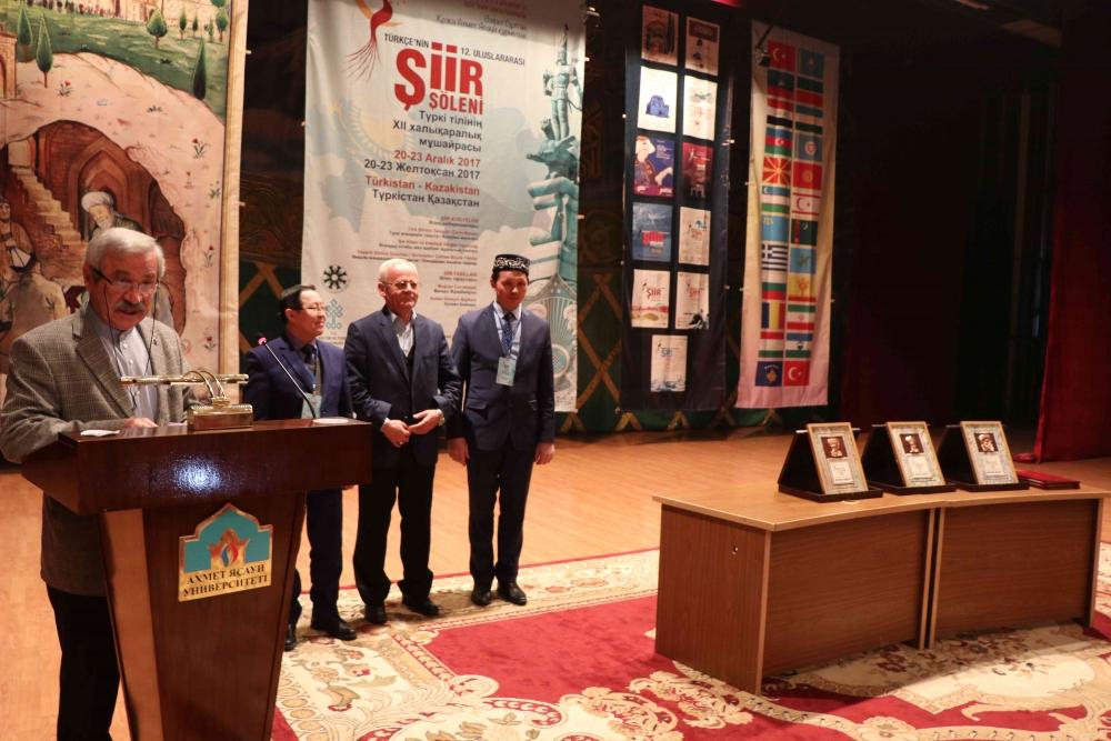 Türkçenin 12. Uluslararası Şiir Şöleni Kazakistan'da Yapıldı galerisi resim 167