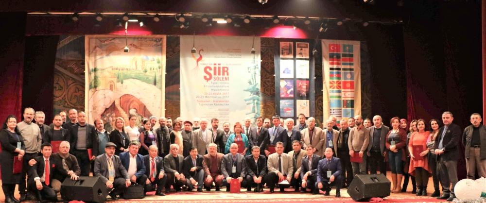 Türkçenin 12. Uluslararası Şiir Şöleni Kazakistan'da Yapıldı galerisi resim 178