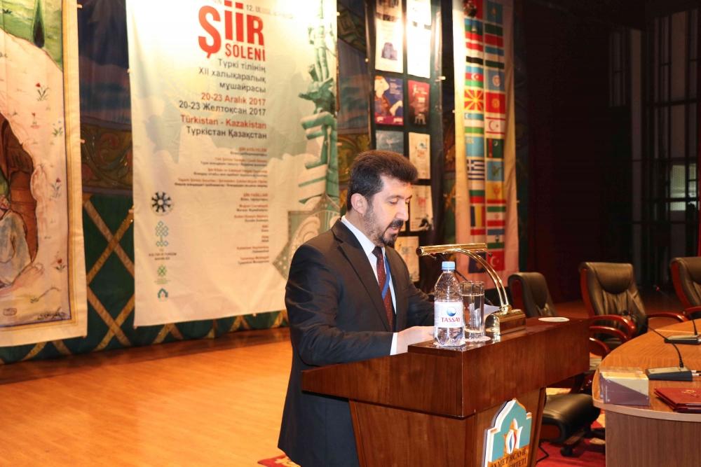Türkçenin 12. Uluslararası Şiir Şöleni Kazakistan'da Yapıldı galerisi resim 3