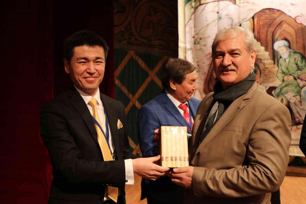 Türkçenin 12. Uluslararası Şiir Şöleni Kazakistan'da Yapıldı galerisi resim 30