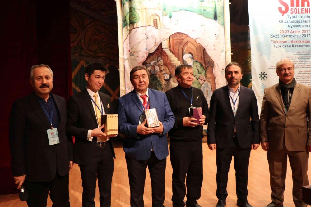 Türkçenin 12. Uluslararası Şiir Şöleni Kazakistan'da Yapıldı galerisi resim 31