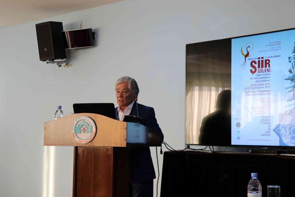 Türkçenin 12. Uluslararası Şiir Şöleni Kazakistan'da Yapıldı galerisi resim 38