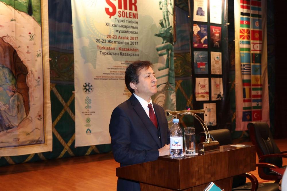 Türkçenin 12. Uluslararası Şiir Şöleni Kazakistan'da Yapıldı galerisi resim 4