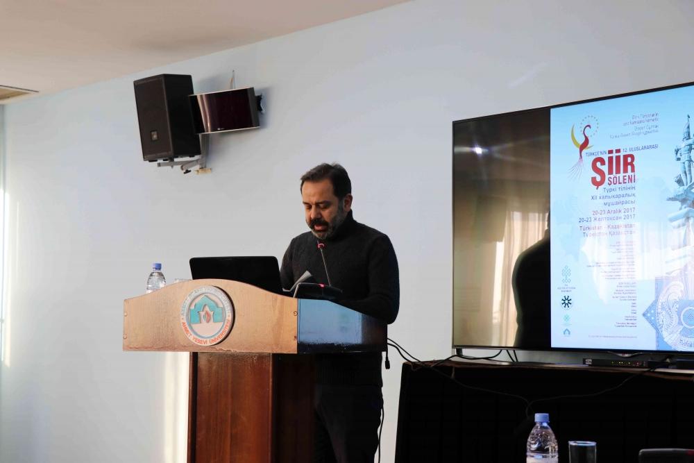 Türkçenin 12. Uluslararası Şiir Şöleni Kazakistan'da Yapıldı galerisi resim 40