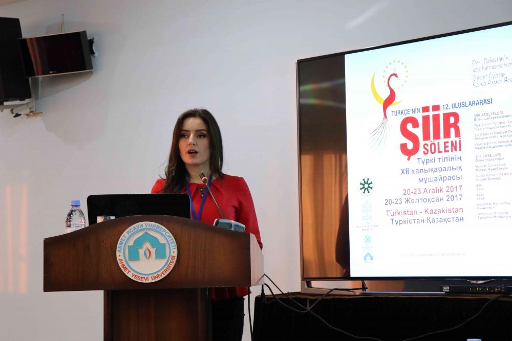 Türkçenin 12. Uluslararası Şiir Şöleni Kazakistan'da Yapıldı galerisi resim 51