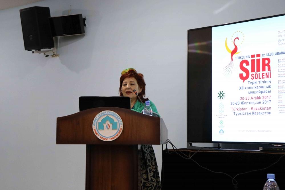 Türkçenin 12. Uluslararası Şiir Şöleni Kazakistan'da Yapıldı galerisi resim 56