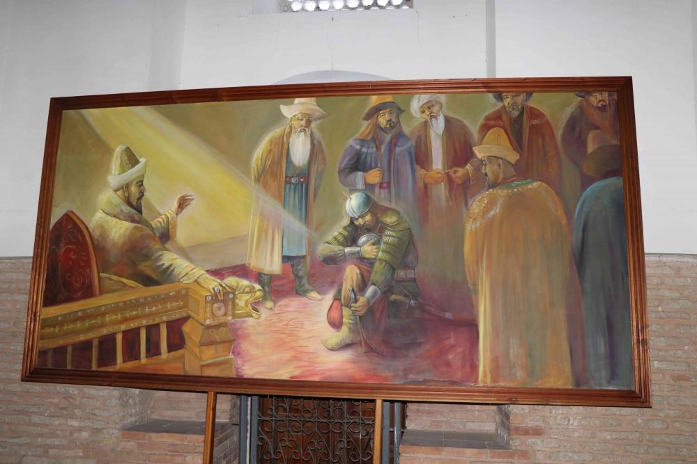 Türkçenin 12. Uluslararası Şiir Şöleni Kazakistan'da Yapıldı galerisi resim 73