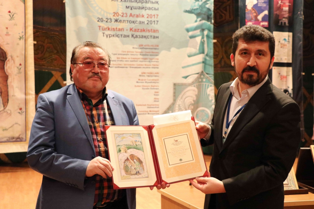 Türkçenin 12. Uluslararası Şiir Şöleni Kazakistan'da Yapıldı galerisi resim 95
