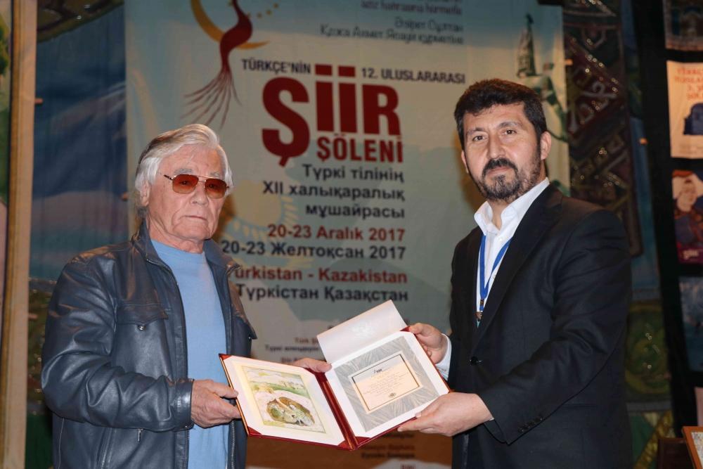 Türkçenin 12. Uluslararası Şiir Şöleni Kazakistan'da Yapıldı galerisi resim 96