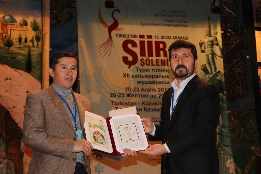 Türkçenin 12. Uluslararası Şiir Şöleni Kazakistan'da Yapıldı galerisi resim 97