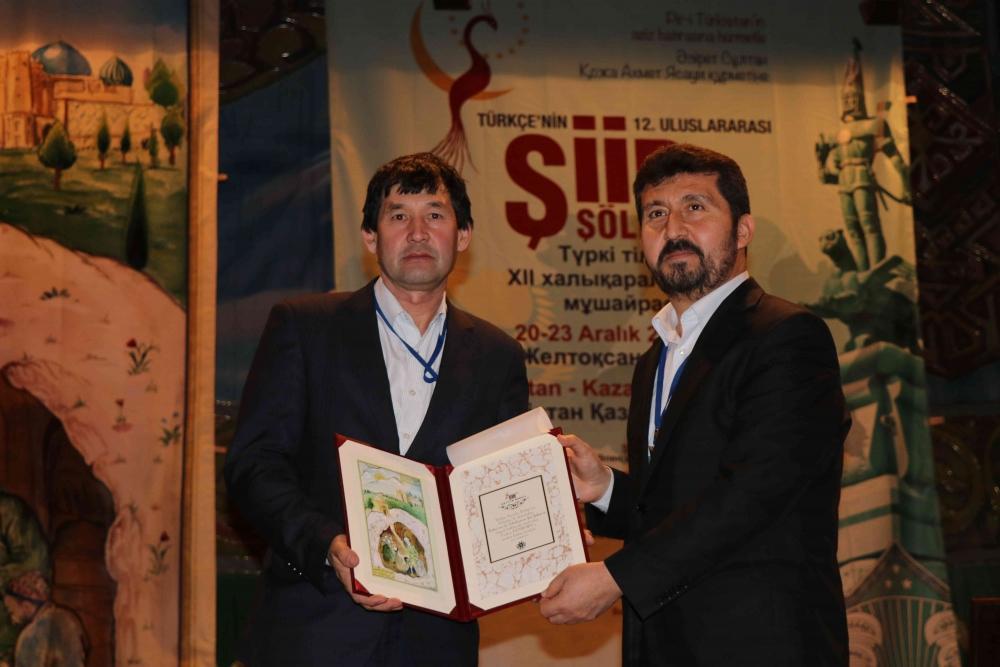 Türkçenin 12. Uluslararası Şiir Şöleni Kazakistan'da Yapıldı galerisi resim 98