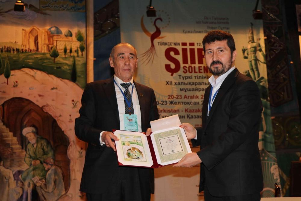 Türkçenin 12. Uluslararası Şiir Şöleni Kazakistan'da Yapıldı galerisi resim 99
