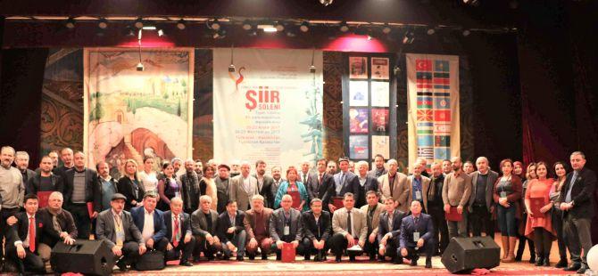Türkçenin 12. Uluslararası Şiir Şöleni Kazakistan'da Yapıldı