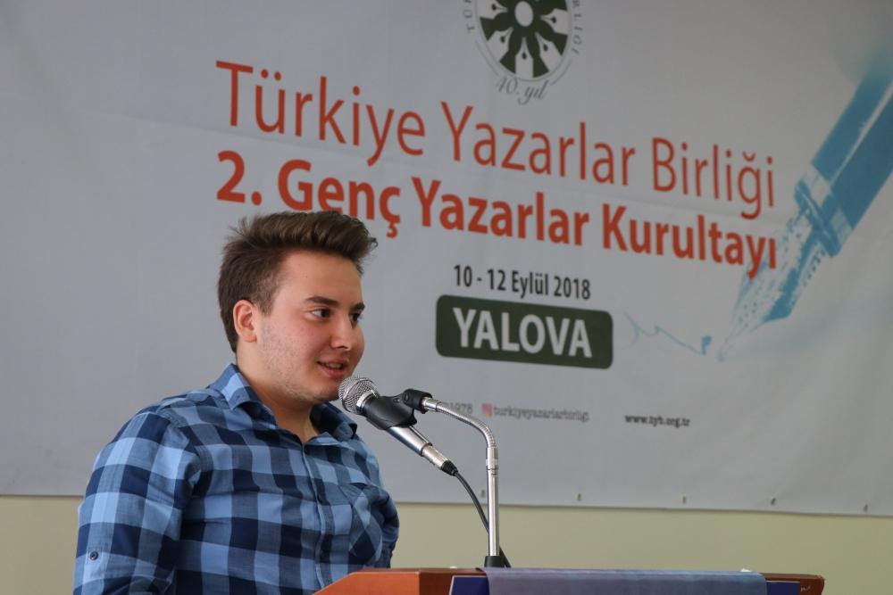 2. Genç Yazarlar Kurultayı Yalova'da Yapıldı galerisi resim 83