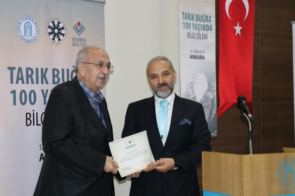 Tarık Buğra 100 Yaşında Bilgi Şöleni galerisi resim 19