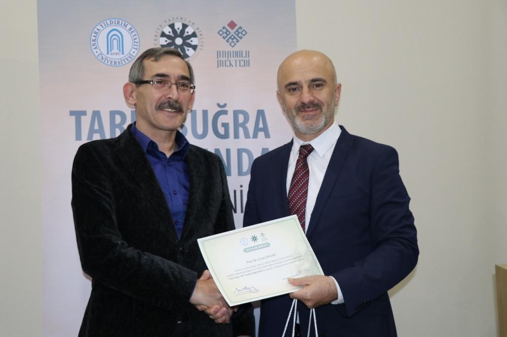 Tarık Buğra 100 Yaşında Bilgi Şöleni galerisi resim 40